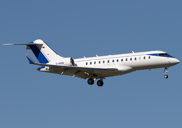 D-ANMB ImperialJet Global 6000 Exterior