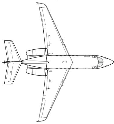 Hawker 800 Vector