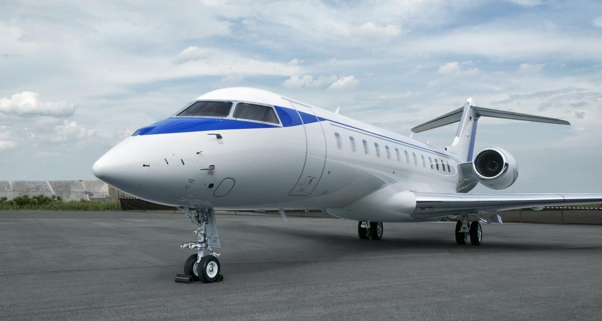 D-ANMB ImperialJet Global 6000 Exterior