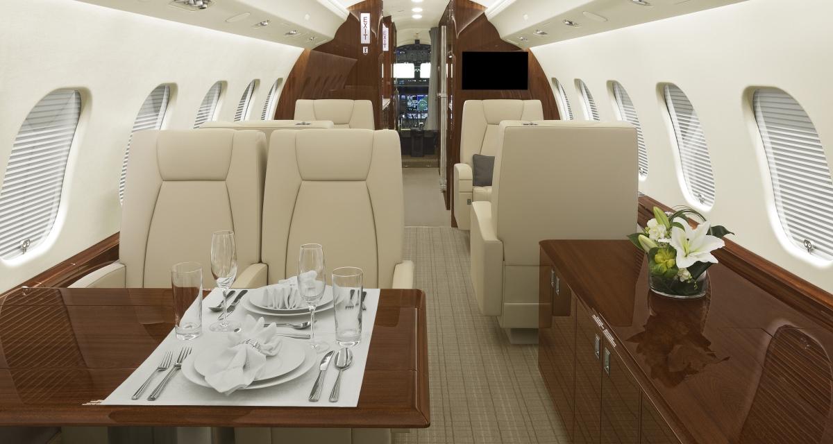 D-ANMB ImperialJet Global 6000 Cabin