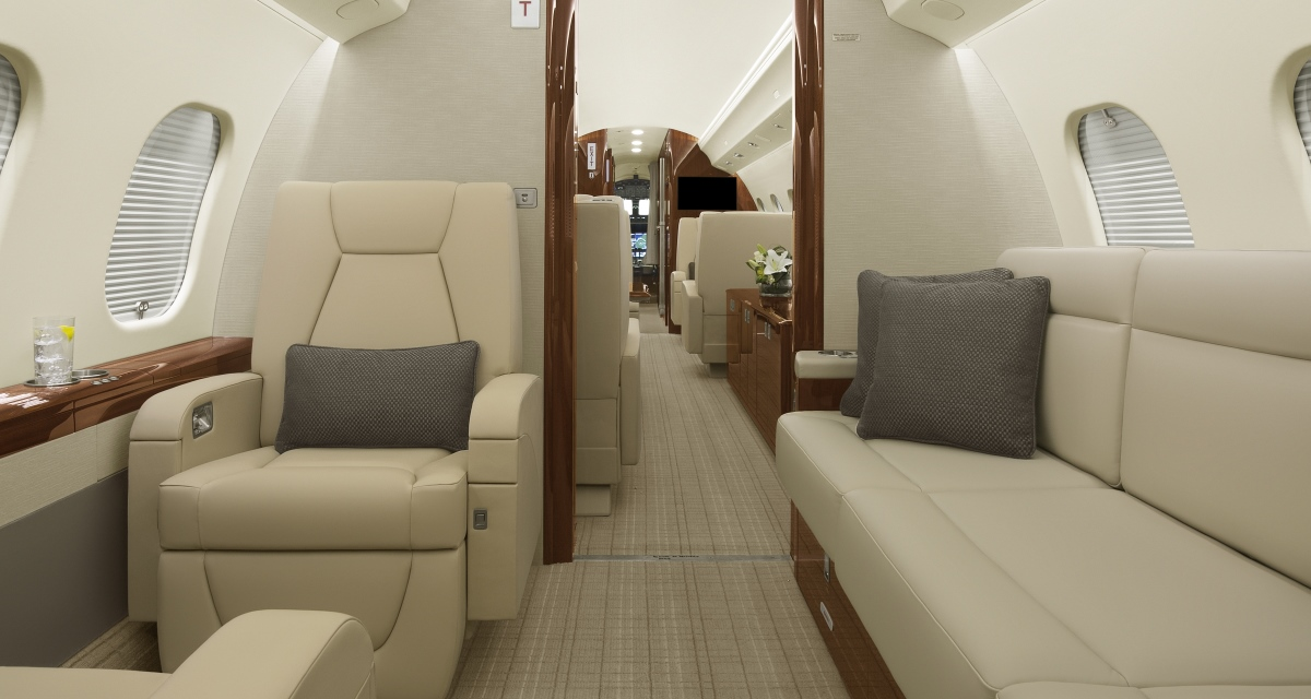 D-ANMB ImperialJet Global 6000 Rear Cabin