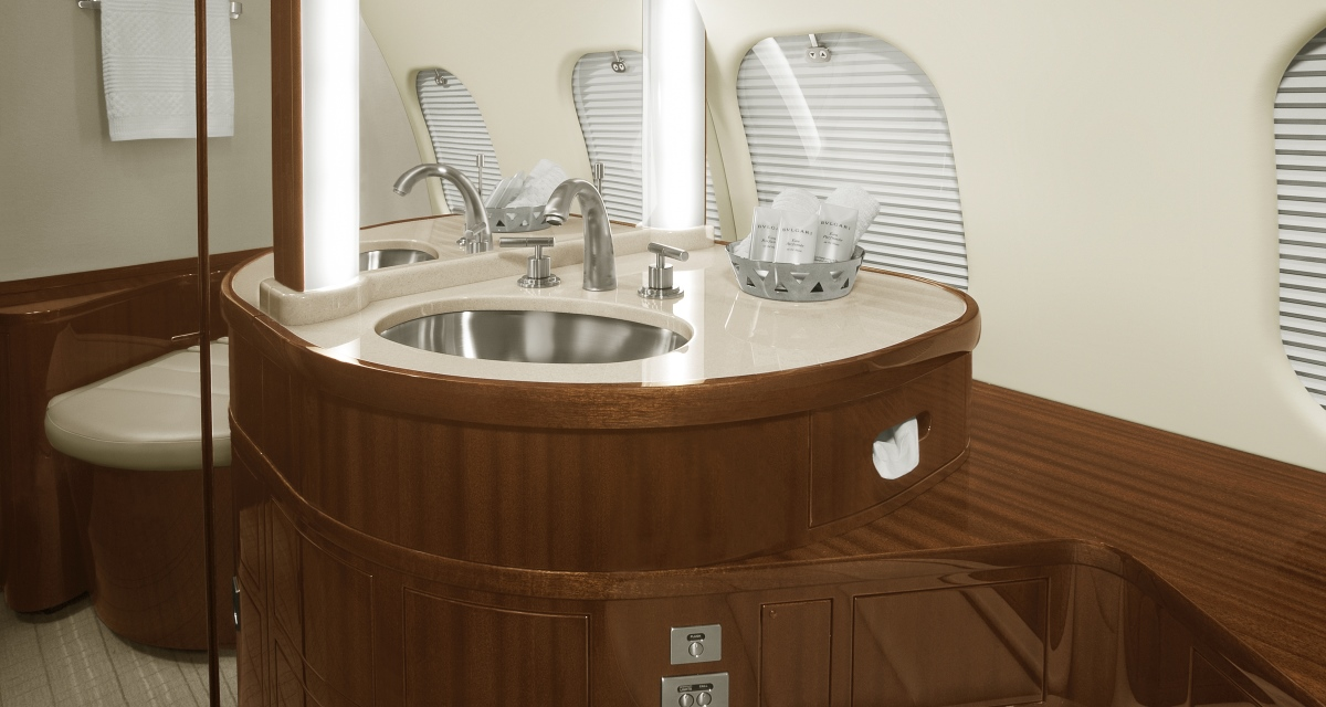 D-ANMB ImperialJet Global 6000 Bathroom